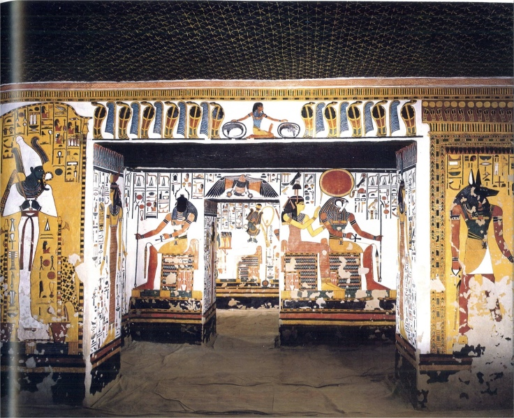 Image result for nefertari tomb